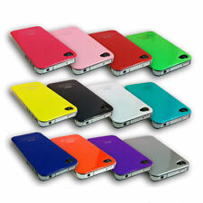 New Shiny Stylish Colourful Hard Back Case Cover For Apple iPhone 4 & iPhone 4S