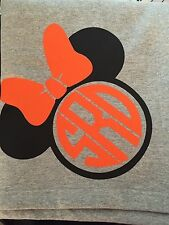 Personalized Monogram 50x60 Mickey or Minnie Mouse Sweatshirt Blanket - You Pick
