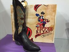 BRAND NEW AUTH YIPPEE KI YAY OLD GRINGO WESTERN BOOTS JOAN OF ARC 13'' WOMANS