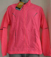 RONHILL WOMENS VIZION WINDLITE RUNNERS JACKET FLUO PINK SIZE 8 & 10 BNWT RRP £45