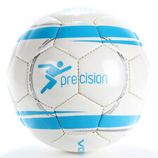 Precision Revolution Match Football Official Size & Weight White/Blue