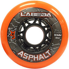8pk Labeda Asphalt Outdoor Roller Hockey Wheels Inline Street 80mm 76mm 72mm