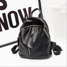 Fashion!Soft Top Genuine Cow Leather Shoulder Women Backpack Lady Bag Two Size