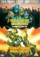 Teenage Mutant Ninja Turtles 2/Teenage Mutant Ninja Turtles 3 (DVD, 2002,...
