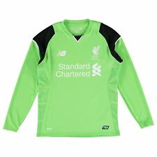 New Balance Mens Football Liverpool Home Goalkeeper Long Sleeve Shirt 2016-17