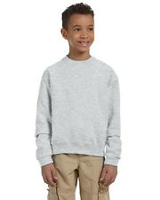 Jerzees Pullover Sweatshirt Youth 8 oz NuBlend 50/50 Crew 562B Size/Color Choice