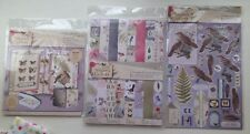 Bundle of Nature's Gallery Card Making Accessories by Papermania