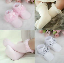 Lace Socks Baby Girls Cotton Princess Dots Bowknot Cozy Toddler Ankle Socks