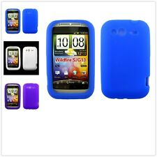 Slim TPU Gel Candy Rubber Soft Silicone Skin Case Cover For HTC wildfire S G13