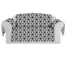 Geom Decorative Sofa / Couch Covers Collection Black.