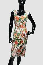 Floral Lace Dress with Silk