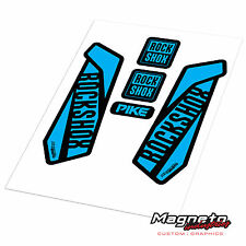 Rock Shox Pike 2016 - Reproduction Fork Decals
