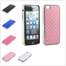 Luxury Crystal Bling Star Diamond Color Chrome Case Cover For Apple iPhone 5 5S