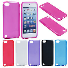 Colorful Soft Slim TPU Gel Rubber Skin Case Cover For Apple iPod Touch 5 5th Gen