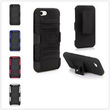 New Holster Combo Belt Clip Hard Defender Stand Case Cover For Apple iPhone 5 5S