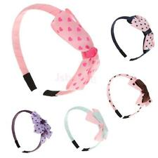 Cute Girls Children Bowknot Headbands Hair Bow Headwear Accessory Gifts-5 Colors