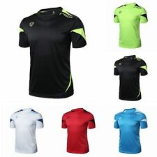 New Mens Sports Casual T-Shirt Fitness Gym Quick Dry Stretch Top Tee Shirt