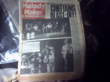 MELODY MAKER,1970S MUSIC MAGAZINE newspaper 19th July1975,Colosseum,10cc etc