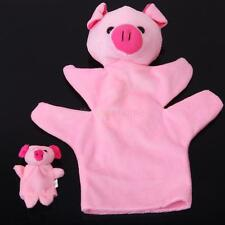 Cute Animal Shape Hand Sack Finger Puppet Kids Learning Pre-school Plush Toy