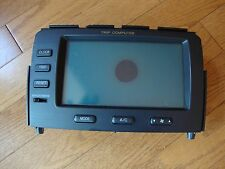 2004 Acura MDX Trip Computer Information Display Screen LCD Info OEM AC Control