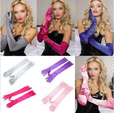 Prom Opera Costume Long Gloves Gloves Evening Party Satin Wedding Bridal New