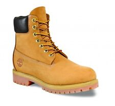 Timberland Mens 10061 - Premium Classic 6 Inch Leather Boots Wheat (#1992)