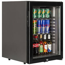 Tefcold TM42G Black Minibar with Glass Door (New) Free Delivery