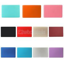 Rubberized Case Skin Cover+Keyboard Cover for Apple Macbook Air Pro Retina