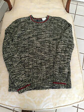 NWT POLO RALPH LAUREN MENS CABLE-KNIT CREW-NECK SWEATER 100% COTTON