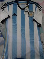 BNWT ADIDAS ARGENTINA 2013-14 Home Football Soccer Jersey Men's Sizes