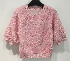 Pink Multi-Colour Knit Beads Sweater Jumper