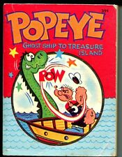 Popeye-Ghost Ship To Treasure Island-1967-Whitman-Big Little Book-VG