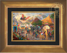 Thomas Kinkade Disney Dumbo 12 x 18 LE E/E Canvas Framed
