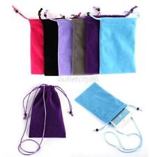 For iphone 6 Plus/Samsung Cell Phone Mobile Neck Strap Sleeve Case Pouch Bag
