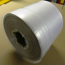 Polythene Lay Flat Tubing Roll | 168metre rolls | 500 gauge - Clearance Stock!