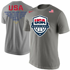 Limited Edition Nike 2016 Rio Olympics Team USA Men's Basketball Roster Shirt !!