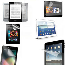 Premium New Ultra HD LCD Clear Screen Protector Film For Various Tablet iPad Lot