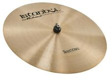 """Istanbul Mehmet Cymbals """"TRADITIONAL RIDE FLAT SIZZLE"""" HAMMERED TURKISH CYMBALS"""