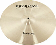 "Istanbul Mehmet  Cymbals ""TRADITIONAL CRASH HEAVY"" HAMMERED TURKISH CYMBALS"