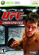 BRAND NEW Sealed UFC 2009 Undisputed (Microsoft Xbox 360, 2009)