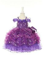 New Baby Princess Corset Flower Girls Dress Party Pageant Christmas Easter Fancy