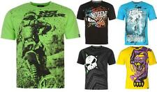 No Fear Moto Graphic T Shirt Mens Motocross Short Sleeves Top ~All Size S -XXL