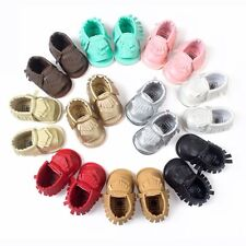Infant Toddler Baby Soft Sole Crib Shoes Boys Girls Sandal Newborn to 18 Months