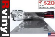 Rtint Smoke Tint Film Wrap for Head Tail Fog Lights Reverse Back Up Stop & More
