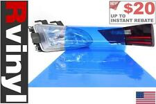 Rtint Blue Smoke Tint Film Wrap for Head Tail Fog Lights Protection Kit & More