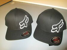 Fox Racing Flex 45 Flex fit hat cap Black White 58379-018 in stock