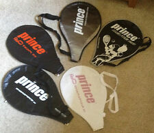 Prince tennis racket covers new black white red pink uk seller