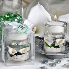 6 Calla Lily Wedding Party Celebration Candle Holders Favors Gifts