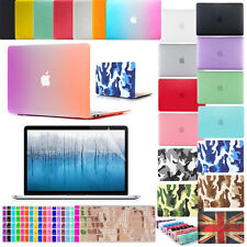Matte Hard Case/Keyboard Cover/Screen Protector for MacBook Air Pro 11 12 13 15""