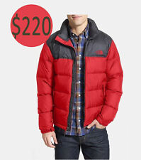 The North Face Men's Nuptse 2 TNF Red/Asphalt Jacket